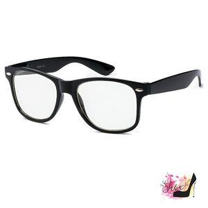 Nerd Eyewear Accessories - Nerd Non-Prescription Black Fashion Glasses